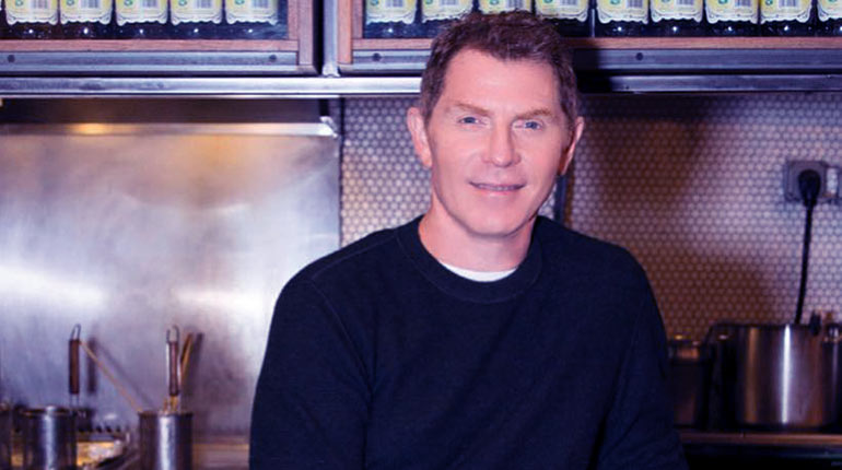 Image of Bobby Flay's Biography; Married Life, Wife, Children, And Net Worth