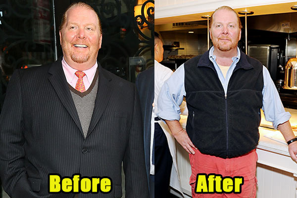 Image of Caption: Chef, Mario Batali weight loss before and after