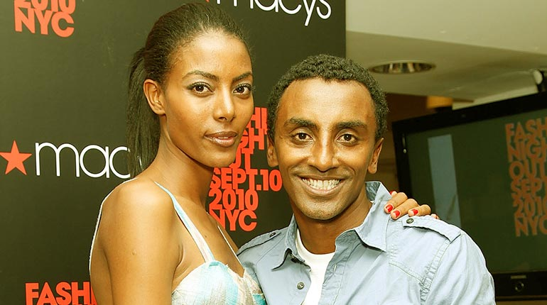 Image of Marcus Samuelsson Net Worth. Meet His Wife Maya Haile.