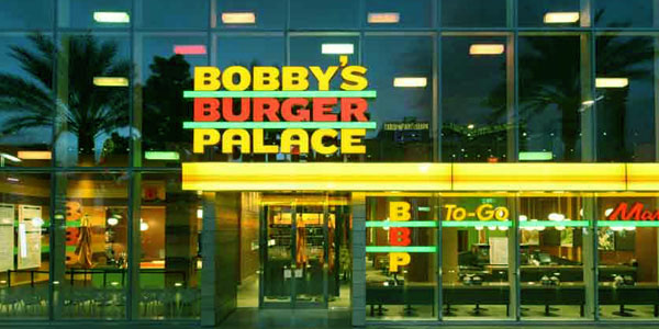 Image of Caption: Bobby Flay restaurant Bobby's Burger Palace