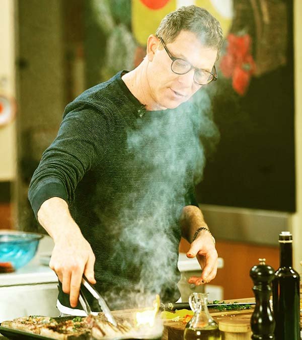 Image of Caption:American TV personality, Bobby Flay