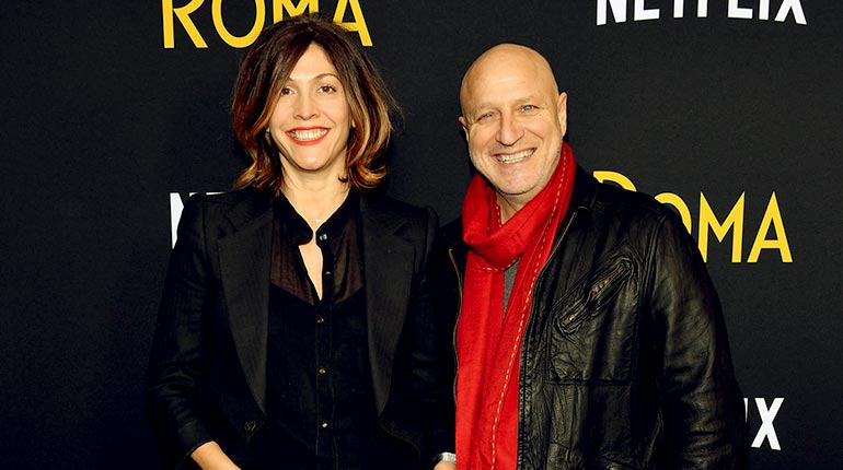 Image of Meet Tom Colicchio Wife Lori Silverbush and Son Dante Colicchio. Also, his net Worth and Resturants.