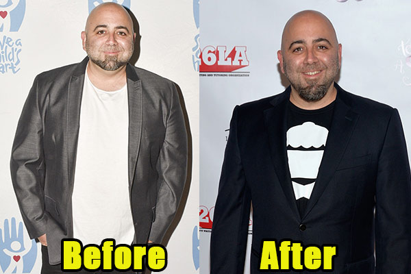 Image of Caption: Duff Goldman weight loss before and after