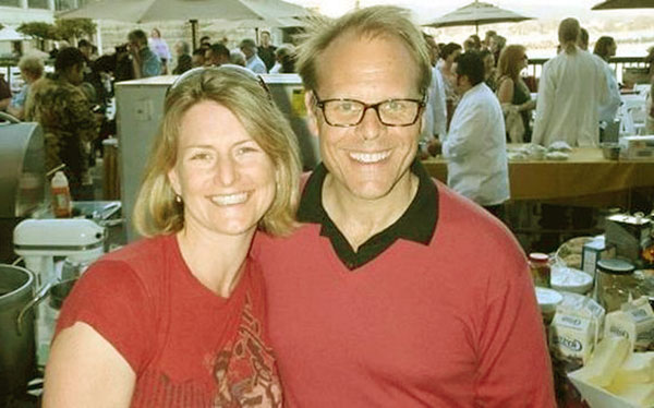 Image of Alton Brown and Deanna Brown