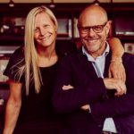 Alton Brown's Wife Elizabeth Ingram and his ex-wife Deanna Brown.