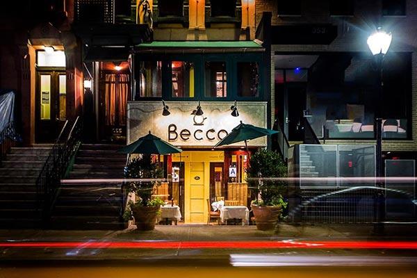 Image of Lidia Bastianich restaurant Becco