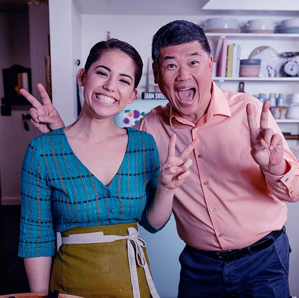 Image of Molly Yeh with her father John Bruce Yeh
