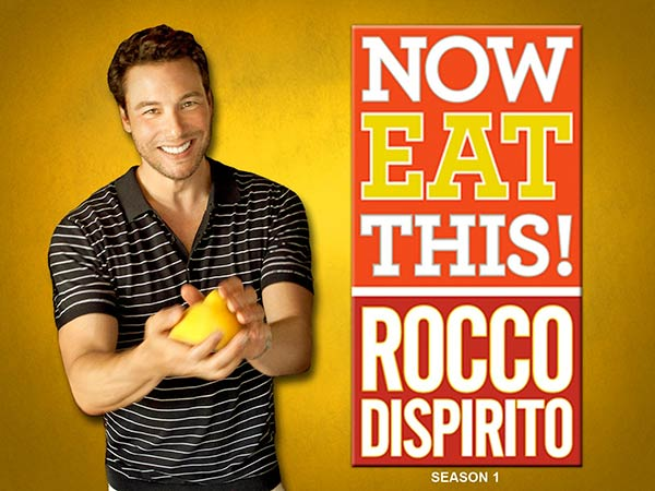 Image of Rocco Dispirito from the TV show, Now Eat This! With Rocco Dispirito