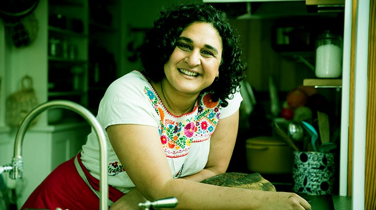 Image of Samin Nosrat Spouse, Partner, Recipes, Facts.