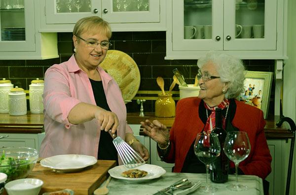 Image of Chef,Erminia Matticchio with her daughter Lidia