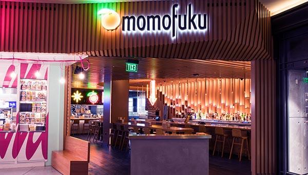 Image of David Chang restaurant Momofuku