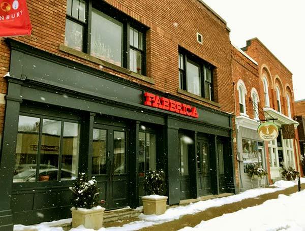 Image of Chef Mark McEwan restaurant name Fabbrica