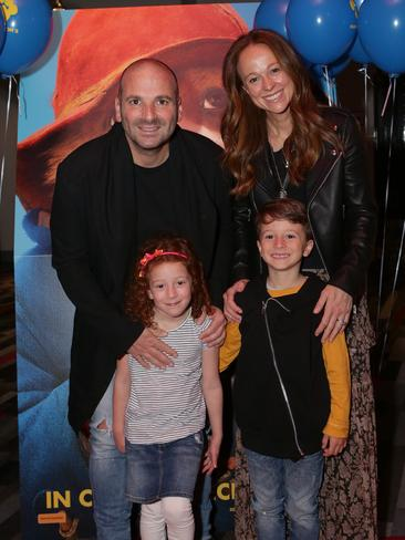George Calombaris's wife,Natalie Tricarico and kids