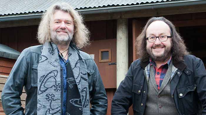Image of member of Hairy Bikers, Si King and David Myers.
