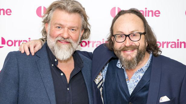 Image of Hairy Bikers, Si King and David Myers.