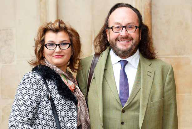 Image of member of Hairy Biker, Dave Myers and his wife, Liliana Orzac.
