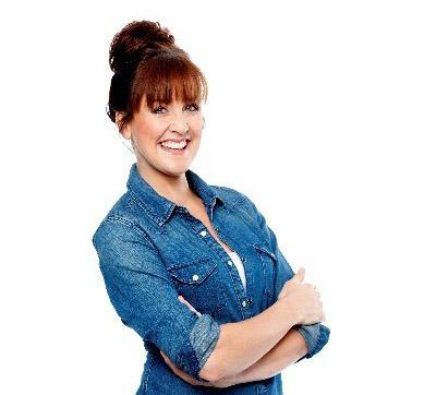 Image of TV presenter, Katy Ashworth.
