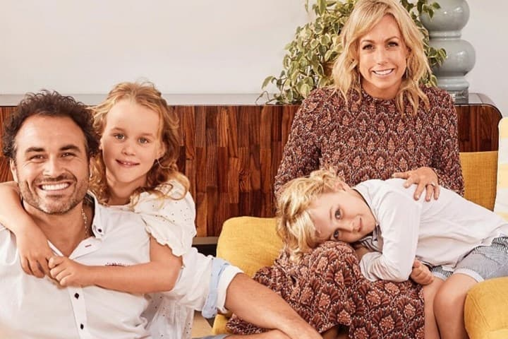 Miguel Maestre and family