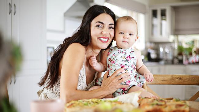 Silvia Colloca's daughter
