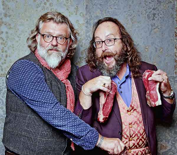 Photo of Hairy Bikers, Si King and David Myers.