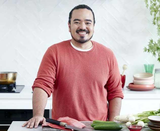 Image of celebrity chef, Adam Liaw.