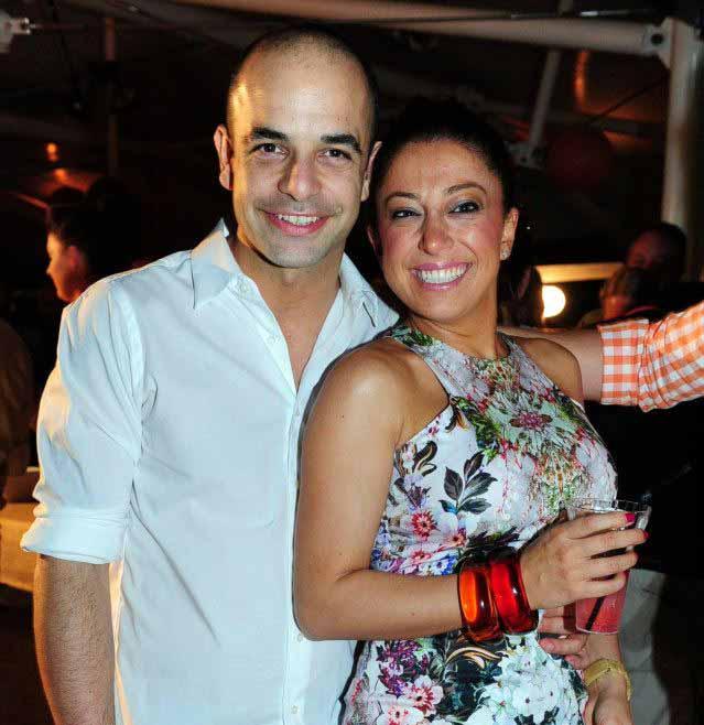 Image of Adriano Zumbo and his ex-girlfriend, Daniella Ruggero.