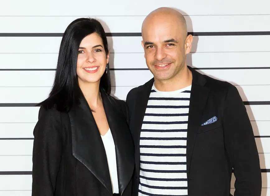 Image of Adriano Zumbo and his girlfriend, Nelly Riggio.