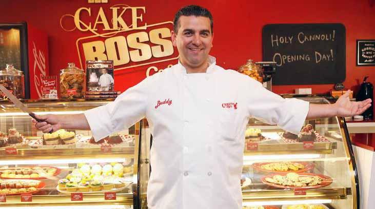 Image of American Celebrity Baker, Buddy Valastro.