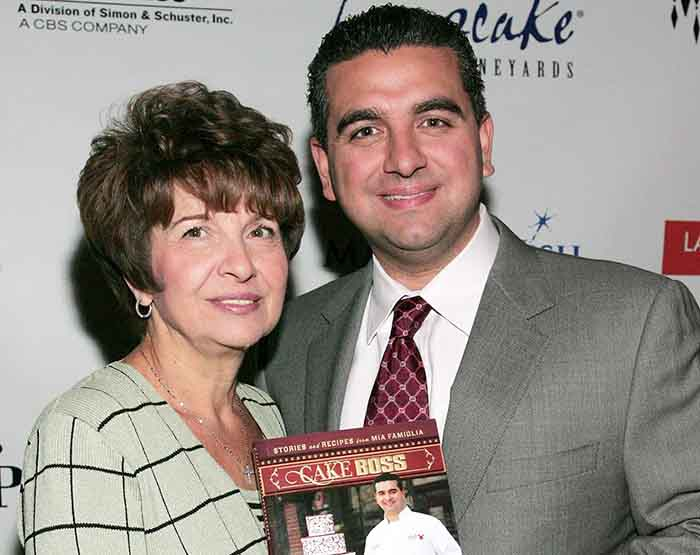 Image of Young Buddy Valastro and his mother, Mary Valastro-Piccinch.