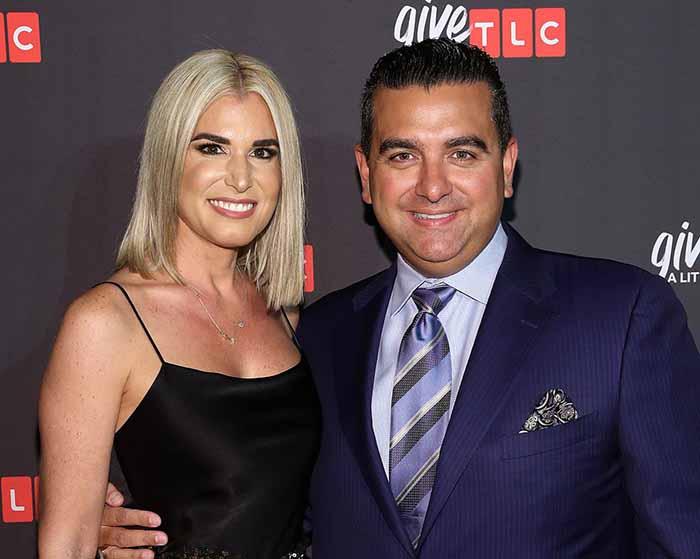 Photo of baker Buddy Valastro and his wife, Lisa Valastro.