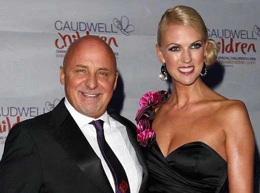 Image of chef Aldo Zilli and his wife, Nikki Zilli.
