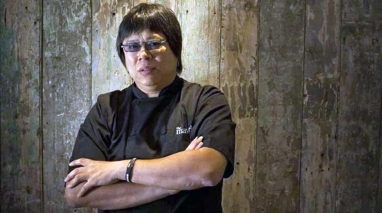 Image of celebrity chef, Alvin Leung.