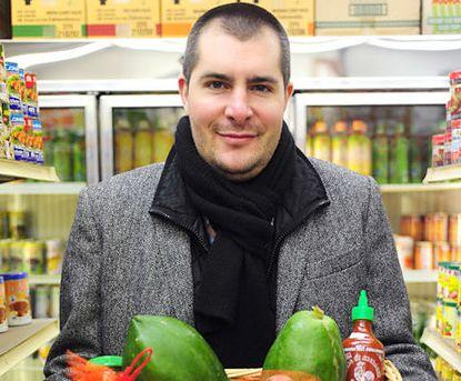 Photo of Top Chef winner, chef Harold Dieterle.