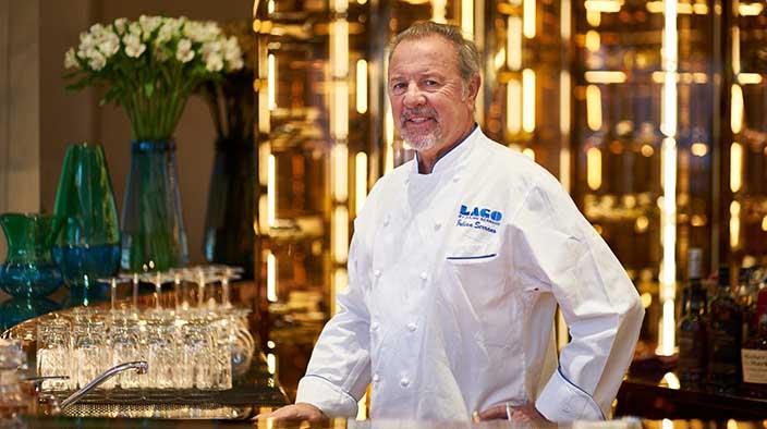 Image of celebrity chef, Julian Serrano.