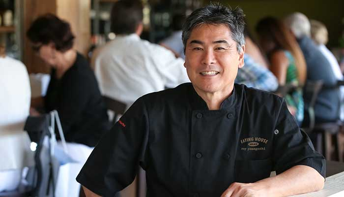 Image of chef and restaurateur, Roy Yamaguchi.