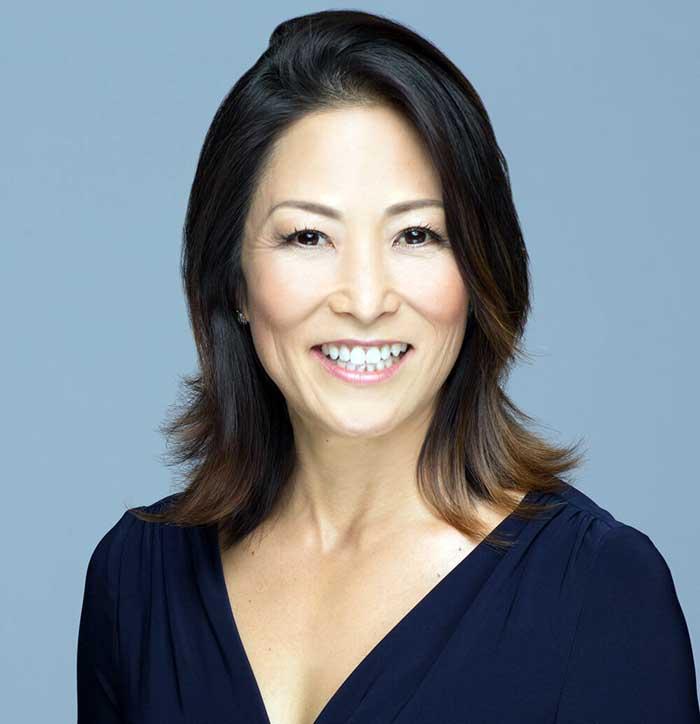 Image of chef Roy Yamaguchi's wife, Denise Hayashi Yamaguchi.