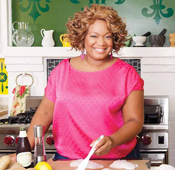 Image of TV host, Sunny Anderson.