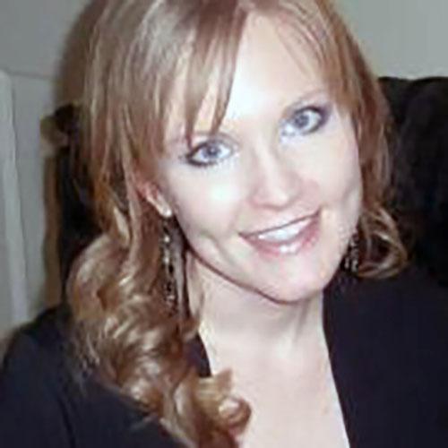 Photo of Claudio Aprile' wife, Heather Aprile.