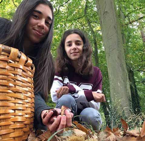 Image of Gennaro Contaldo's twin daughter.