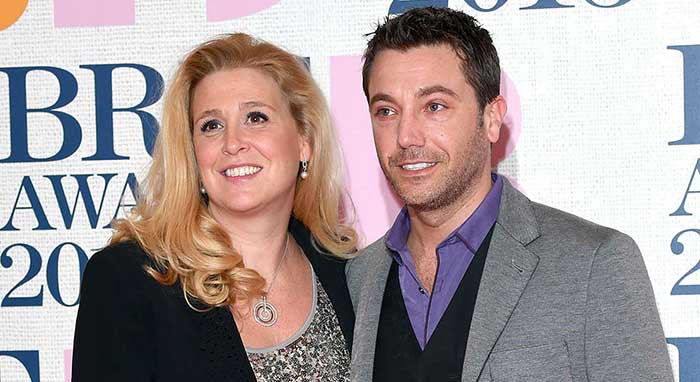 Image of Jessica Stellina Morrison with her husband, Chef Gino D'Acampo.