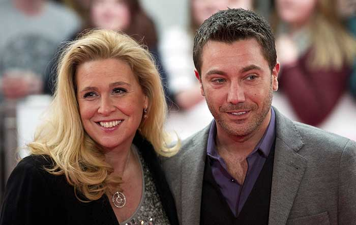 Image of Jessica Stellina Morrison and her husband, Gino D'Acampo.