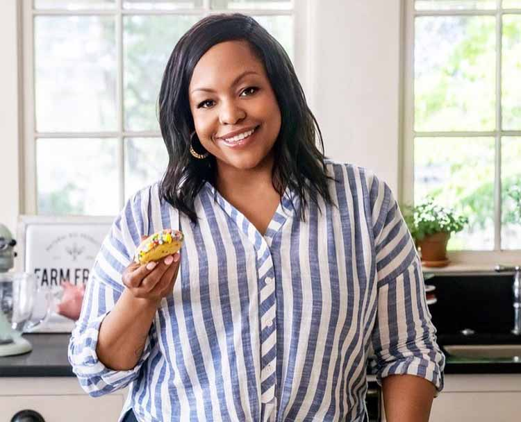 Photo of contemporary southern cook, Kardea Brown.