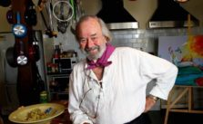 Photo of TV star, painter, and chef, Peter Russell Clarke.