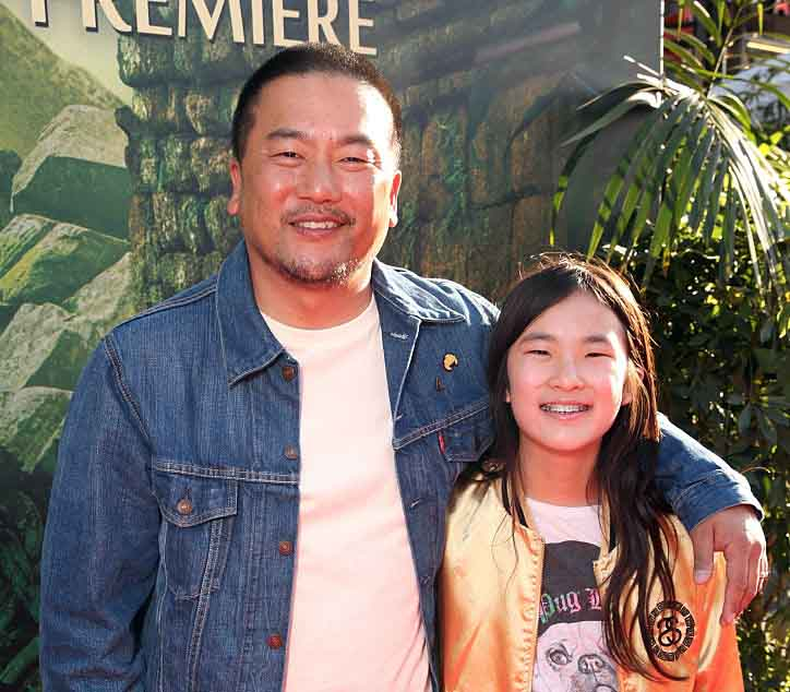 Photo of Roy Choi and his daughter, Kaelyn Choi.