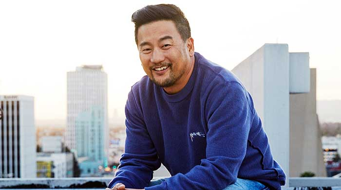 Photo of chef and TV personality, Roy Choi.