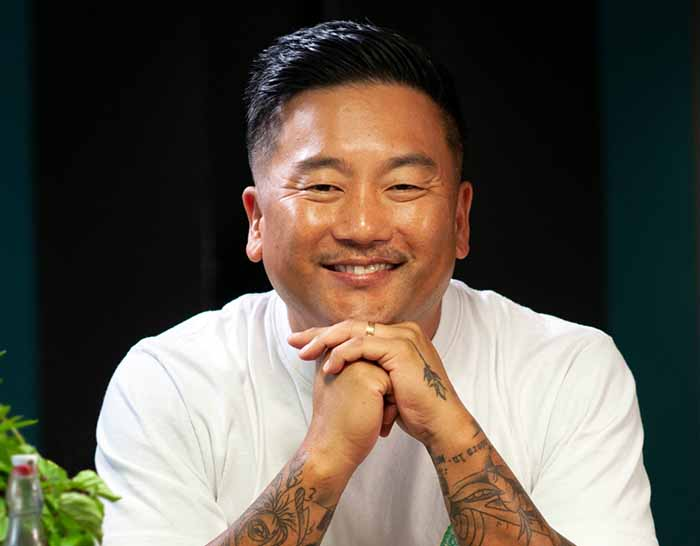Image of famous chef, Roy Choi.