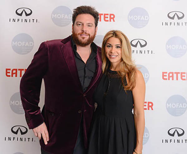 Image of chef Scott Conant and his wife, Meltem Conant.