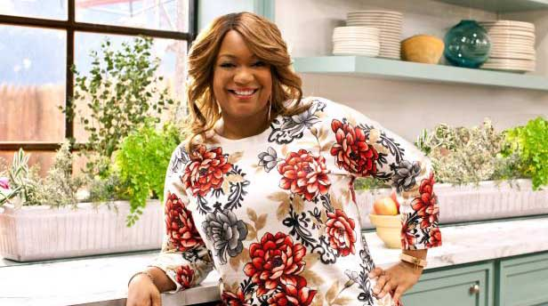 Image of Television personality and host, Sunny Anderson.