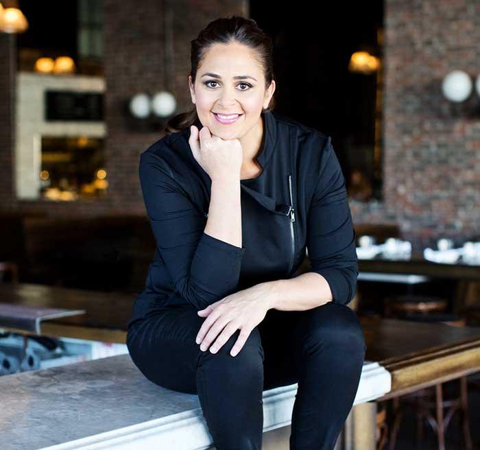 Photo of Xea Mayers' mother, Chef Antonia Lofaso.