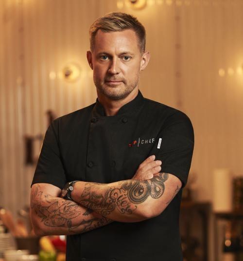 Image of successful chef, Bryan Voltaggio